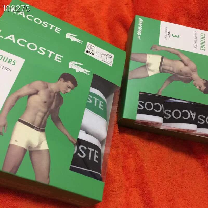 Мужские трусы Lacoste: Набор Boxers Courts